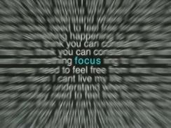 Focus-in-sky-blue