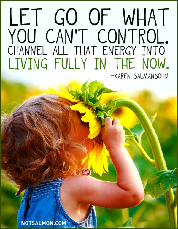 Let Go Of What You Cant Control Bright Shiny Objects