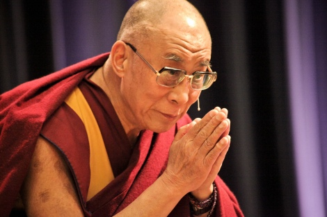 Dalai lama's second day with IM. Stockholm, Sweden, 15 April 201